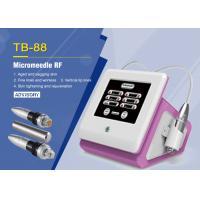Portable Fractional RF Microneedle Machine For Skin Rejuvenation / Strech Mark Removal