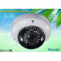 3 - Axis Bracket Built - in LED IR Vandal Proof Dome Camera With 20M IR Working Distance