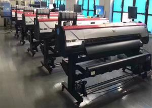 China High Speed Roll-To-Roll Large Format Printing Machine 1600m With Double DX5 Print Heads For Large Prints Vinyl Printer on sale