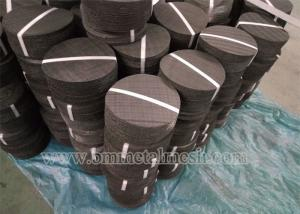 China Circle extruder screen mesh filter in single or multilayer keep particles out/filter disc mesh on sale