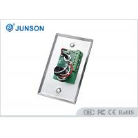 China Two Colored LED Indication Door Release Button With Stainless Steel Plate on sale