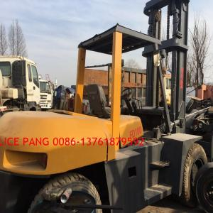 China 10ton new arrival well-test  second hand condtion used  tcm forklift sale cheap on sale
