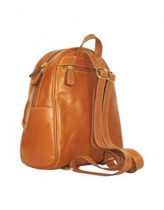 2a4f03e565 ... Quality Durable Genuine Leather Backpack Bag Brown With Fine Handcraft