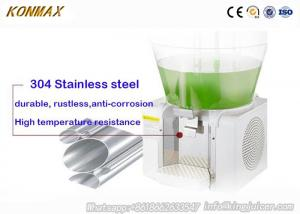China 50L Single Tank Mixing Cooling Juice Dispenser Machine For Cafe Shop on sale