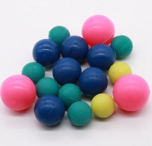 China Colored Food Grade Small Silicone Balls For Vibrating Screen 6-10 MM Machinery on sale