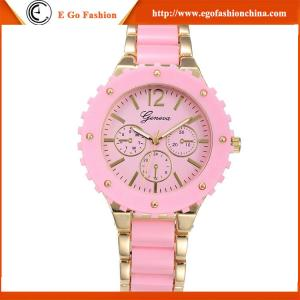 China GV05 Rose Gold Luxury Watches for Woman Hotsale in USA GENEVA Watch Candy Quartz Watches on sale