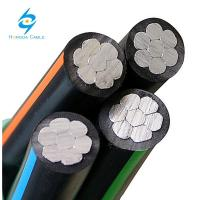 China ABC Cables Overhead Aerial Bundle Cable Aluminum Aerial Cable 25mm 35mm 50mm on sale