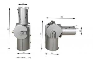 China Rugged Led Street Light Fixtures Universal Aluminum Adapter Adaptor on sale