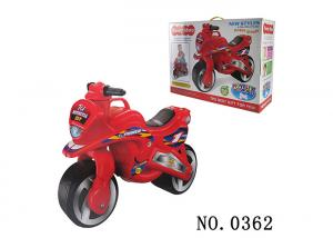 China Red Balance Slide Ride On Motoycycle Toy For Toddler 2  ~ 6 Years Old Non - Toxic on sale