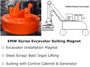 China Excavator Suiting Magnet on sale