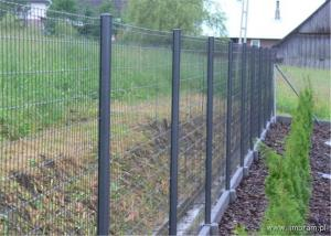 China PVC Coated Security Protected Fence/Wire Mesh Fence on sale
