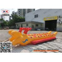 Marine PVC Rigid Inflatable Boat / Chinese Dragon Boat For Adults