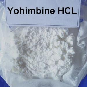 China Male Enhancement Sex Steroid Hormone Yohimbine Hydrochlorid / HCl For Erectile dysfunction CAS 65-19-0 on sale