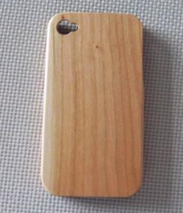 China Cherry Waterproof Iphone 4 Wooden Cases,Iphone Protective Cases on sale
