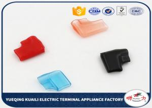China Flexible Soft Pvc Insulated Terminal Sleeve Motorcycle Wring Caps For SURE Plug on sale