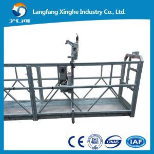 China La sola persona suspendió la plataforma/la plataforma que subía/zlp250, zlp500.zlp630, zlp800 del palo on sale