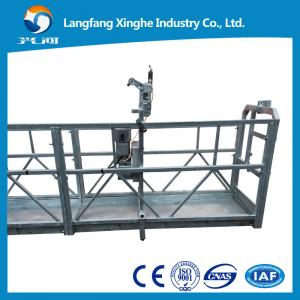 China Steel zlp suspended platform , suspended access equipment , suspended cradle system , hanging scaffodling on sale