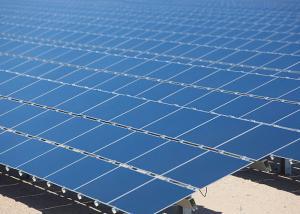 China Blue Multicrystalline Yingli Solar Panels TPT Back Sheet MC4 Compatiable on sale