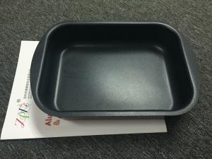 China Aluminum square pan  for BBQ pan or roaster non-stick coating/outer heat resistant painting on sale