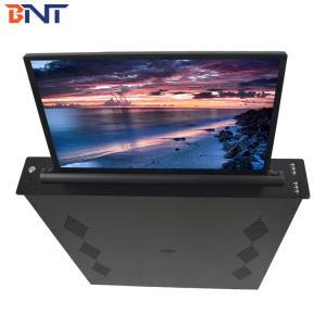 China 15.6  Inch LCD, 73 Mm Slim Office Conference Room Desktop LED Screen Mechanism on sale