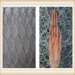 Galvanized Gabion Box Of Twisted Hexagonal Wire Mesh , Galfan Coated Gabion Basket
