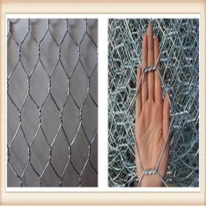 China Galvanized Gabion Box Of Twisted Hexagonal Wire Mesh , Galfan Coated Gabion Basket on sale