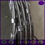 10メートルの/rollのエレクトロはアコーディオン式の十字かみそりの有刺鉄線に電流を通しました