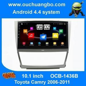 China Androïde stéréo 4,4 de navigation de généralistes d'autoradio d'Ouchuangbo pour Toyota Camry 2006-2011 avec l'AUTOBUS de wifi du bluetooth 3g on sale
