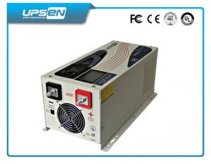 China Hybrid Off Grid Solar 4000W 5000W 6000W DC AC Inverter / Converter with Pure Sine Wave on sale