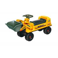 China Pretend Play Ride On Trucks For Toddlers , Plastic Bulldozer Sliding Car on sale