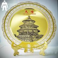 China Sandblasting Or Etching Metal Gold Medal ,  Business  Club Folk Art Award Medals on sale