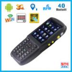 China Industrial Portable Data Terminal Barcode Scanner Pda With Wifi And Bluetooth wholesale