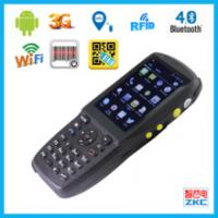 Programmed Handheld UHF Rfid Reader 2MP Camera For Animal Tracking