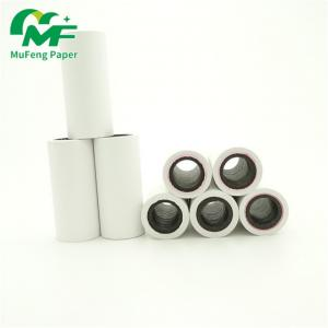 China 55gsm thermal paper pos roll/ atm cash rolls for printer on sale
