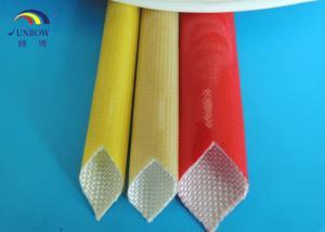 China Customized Polyurethane Sleeving / Fiber Glass PU Varnished Sleeve on sale