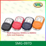 SMG-097D AUTO scan frequency multi frequency 4 buttons universal gate remote control