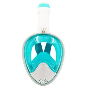 China Panoramic Visibility Wide View Snorkel Face Mask , Full Face Scuba Diving Mask on sale
