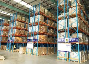 China Large Capacity Warehouse Pallet Storage Racks , Industrial Racking Shelves on sale