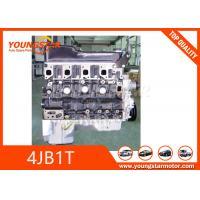 Long Engine Cylinder Block For ISUZU BJ493ZQ TURBO EISSIONS  Euro II Emission Standard