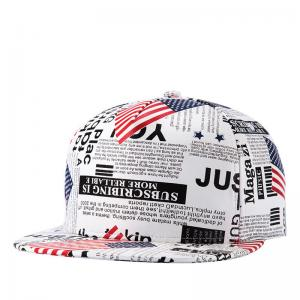 China USA custom printing nylon snapback cap design your own 5 panel nylon hat  3D embroidered  color: blue on sale