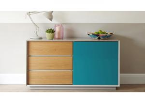 China Colorful Contemporary Dining Room Sideboards And Buffets , Modern Dining Buffet Furniture  on sale
