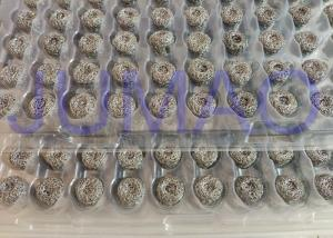 China Oilless Copper Knitted Wire Mesh , Round Core Stainless Steel Knitted Mesh on sale