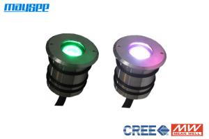China 50mm Diameter Small LED Pond Lights Submersible , LED Lights For Aquarium on sale