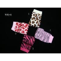 Zebra & Leopard Baby Leg Warmers