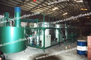 China NRY machine d'épurateur a employé la régénération de réutilisation d'huile de moteur/huile de voiture/de bateau huile on sale
