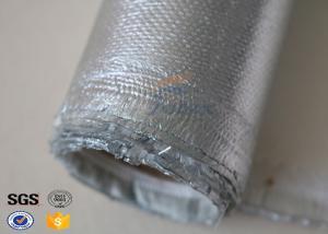 China Alta fibra de vidrio de la tela de la silicona del acero inoxidable para la chaqueta de aluminio desprendible on sale