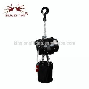 China 2 Ton Electric Chain Hoist , Electric Wire Rope Hoist High Safety Hook on sale