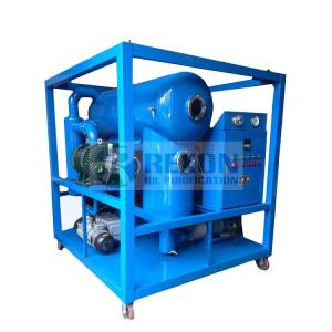 China High Vacuum Transformer Oil Purifier, Dielectric Oil Treatment, Transformer Oil Filtration Plant Model ZYD-50(50LPM) on sale