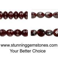 Wholesale Natural Garnet Beads (Semi Precious Stone)