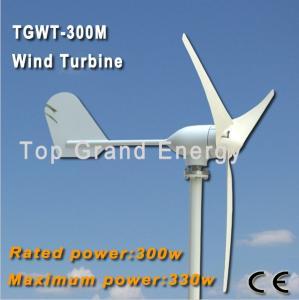 China Generador síncrono trifásico de la CA del imán permanente de la turbina de viento de TGWT-300M 300W 12V/24V on sale